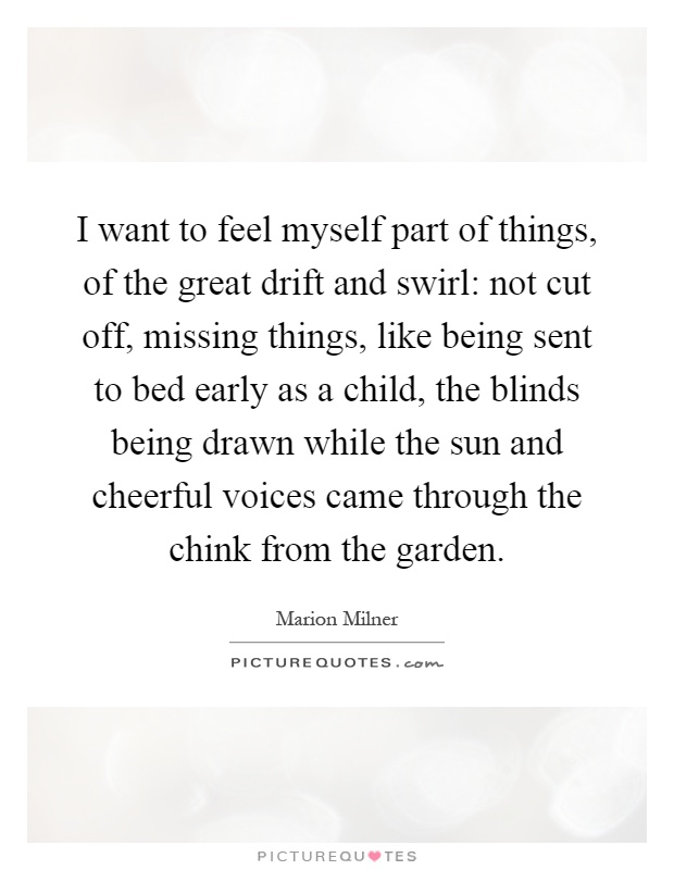 Quotes about missing things