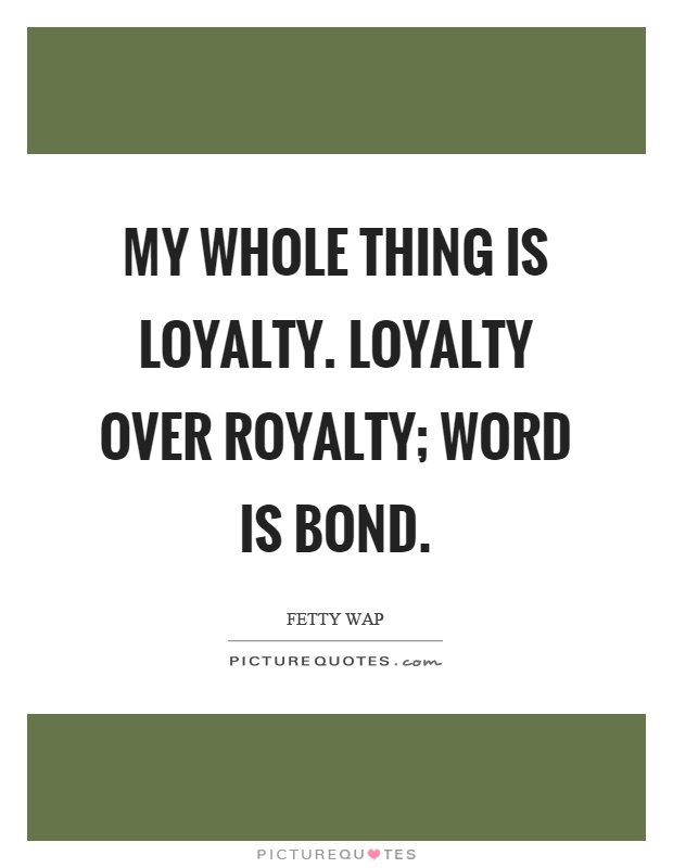 Bond Quotes Simple Word Is Bond Quotes & Sayings  Word Is Bond Picture Quotes