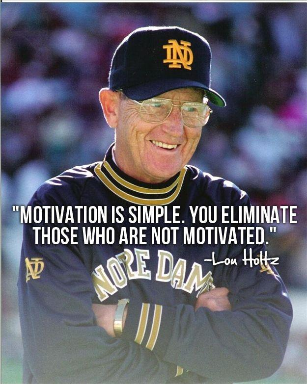 Motivation is simple. You eliminate those who are not motivated Picture Quote #1