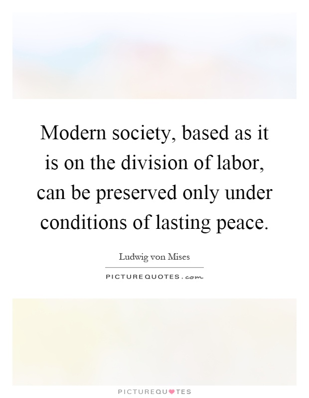 the division of labor Advertisements: let us make an in-depth study of the division of labour in economics:- 1 meaning of division of labour 2 definition of division of labour 3.