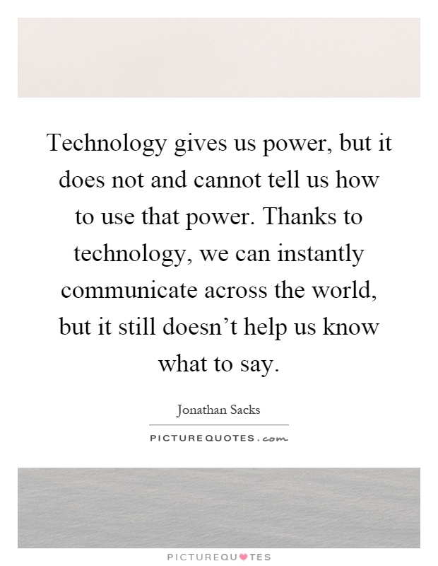 how does technology help us There are certain websites and forms of technology that are regarded how technology helps there have been allegations that google is making us.