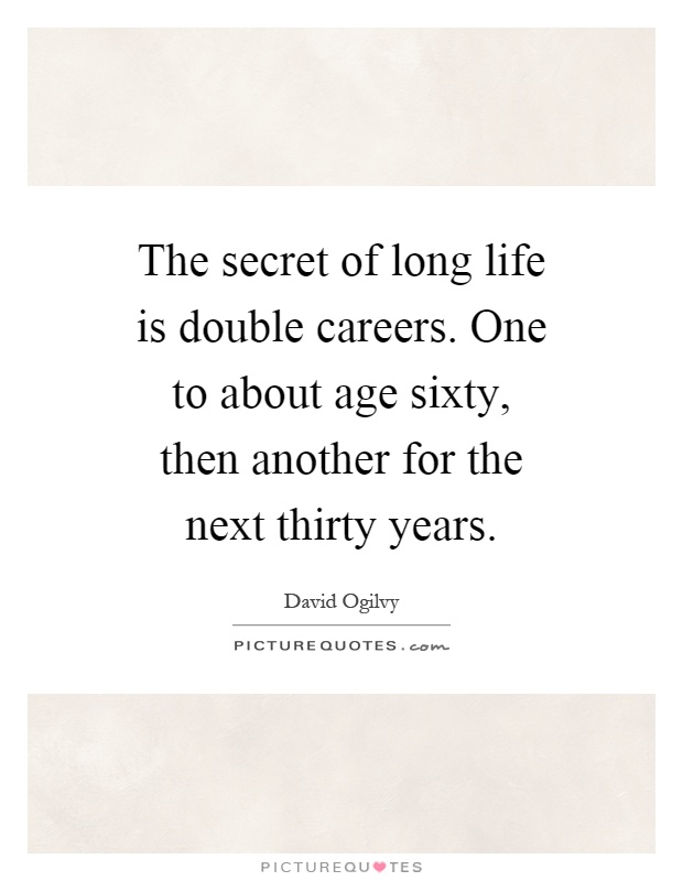 The secrets to a long life essay