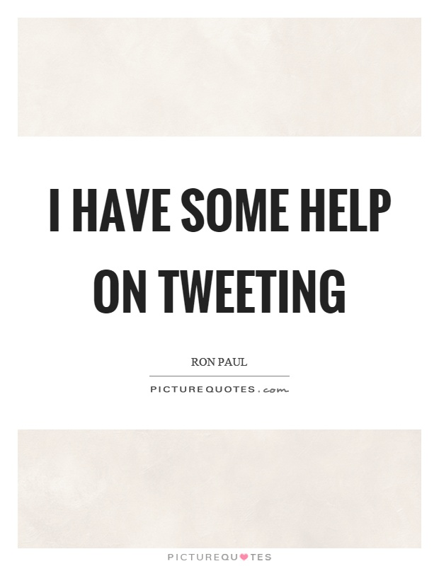 I have some help on tweeting Picture Quote #1
