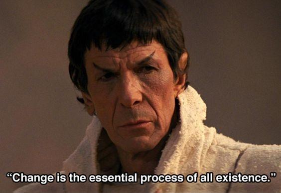 Change is the essential process of all existence Picture Quote #1