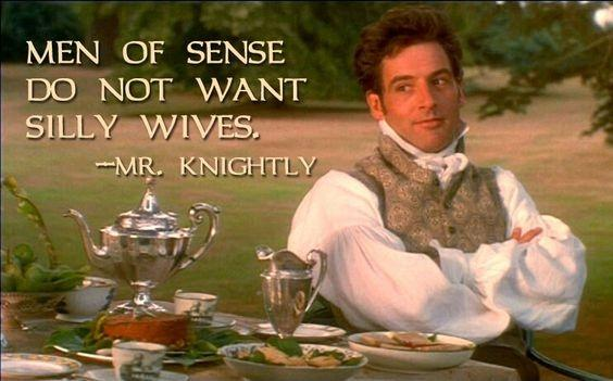 Men of sense do not want silly wives Picture Quote #1