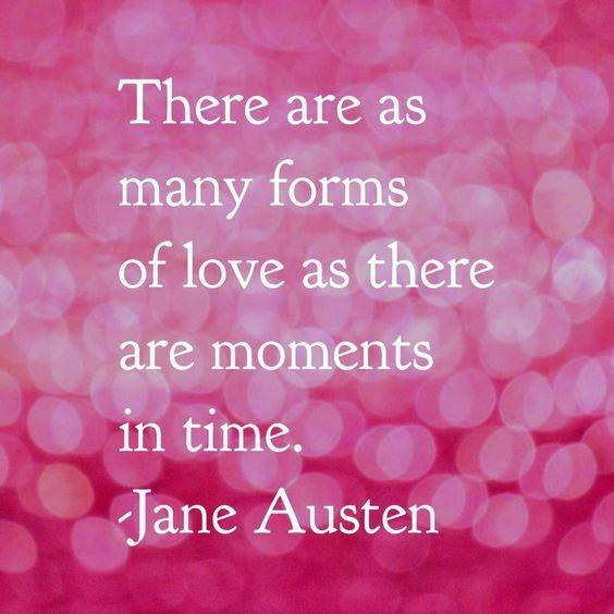 There are as many forms of love as there are moments in time Picture Quote #1