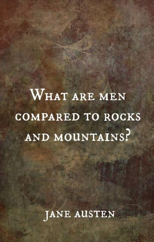 What are men compared to rocks and mountains Picture Quote #1