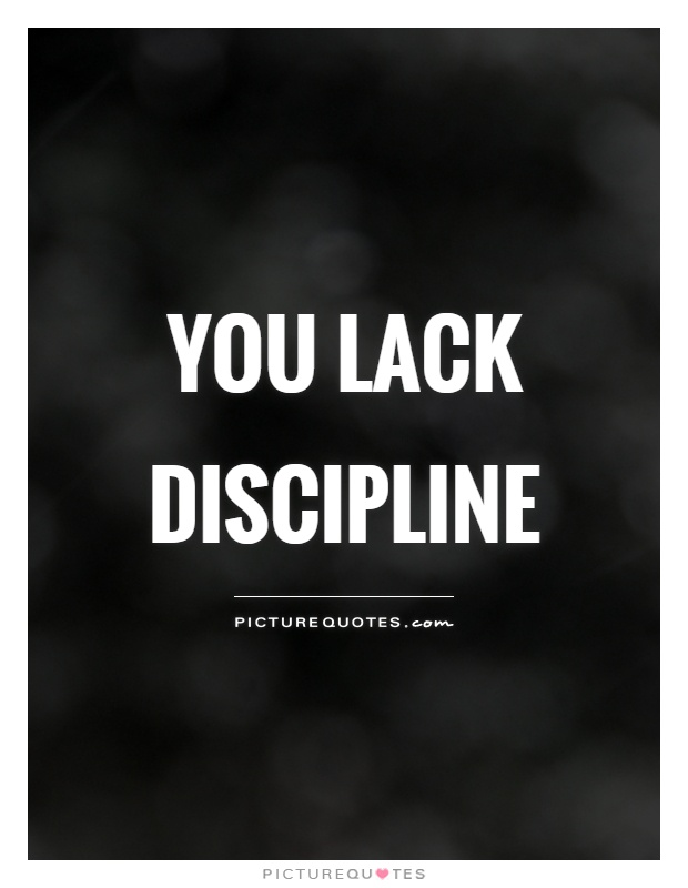 how to become disciplined in life