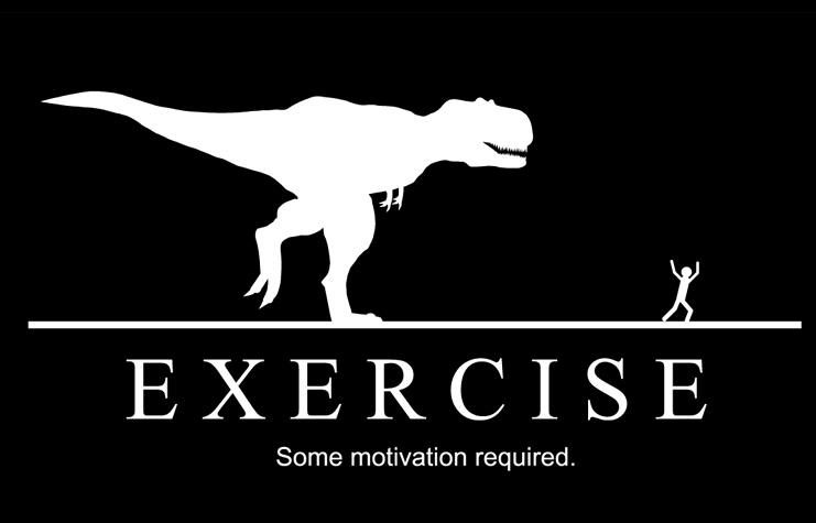 Exercise. Some motivation required Picture Quote #1