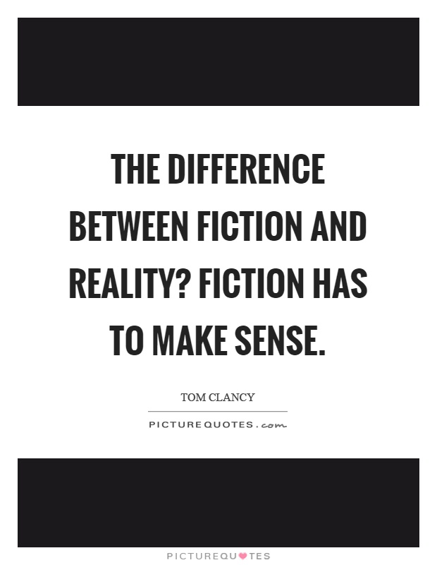 the patchwork of reality and fiction It can sometimes be hard to read and as it often jumps between reality and virtual  a fantasy, it's science fiction,  as a patchwork of corporate.