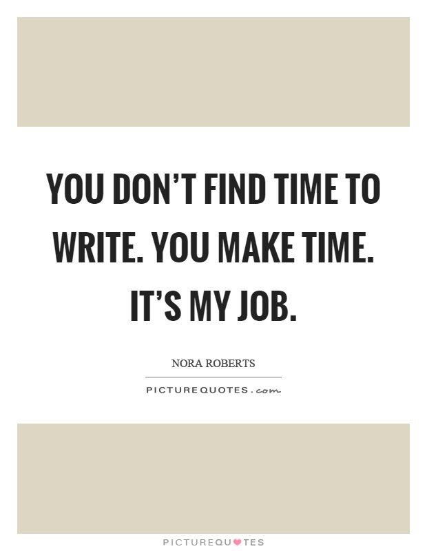 how to write a quote for a job