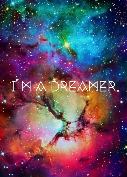 I'm a dreamer Picture Quote #1