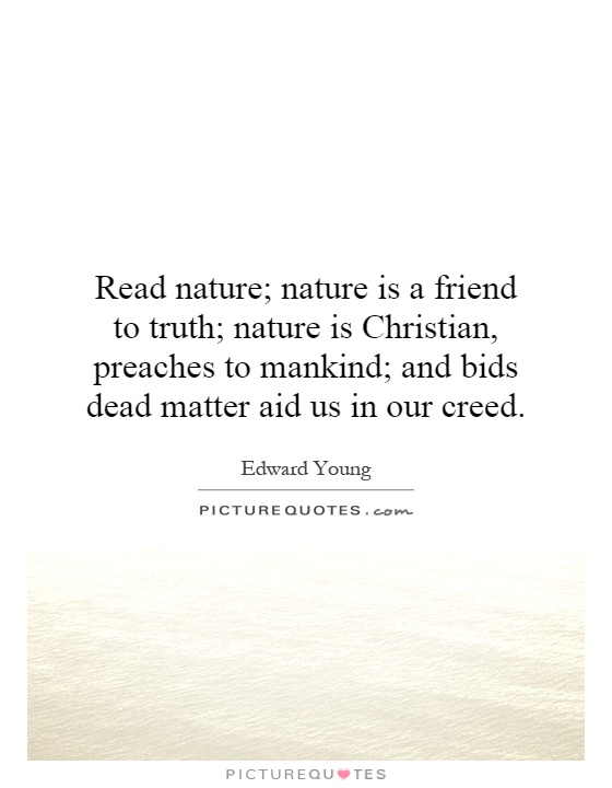 essay on nature is the true friend of mankind Nature is an essay written by ralph  when a person experiences true solitude, in nature, it take[s] him away  the happiest man is he who learns from nature .