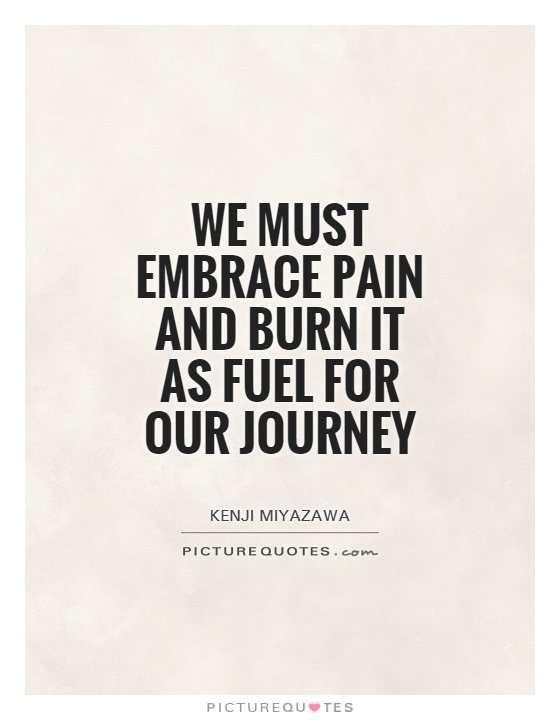 Embrace The Pain Quotes. QuotesGram