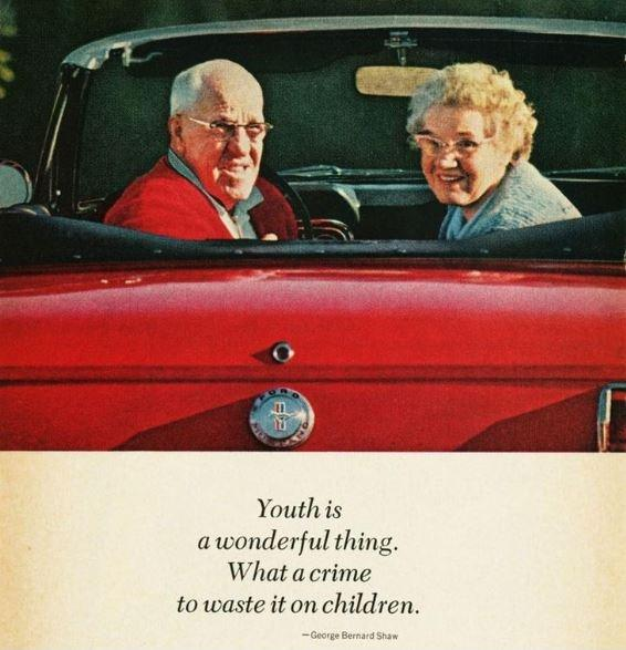 Youth is a wonderful thing. What a crime to waste it on children Picture Quote #1