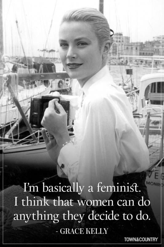 I'm basically a feminist. I think that women can do anything they decide to do Picture Quote #1