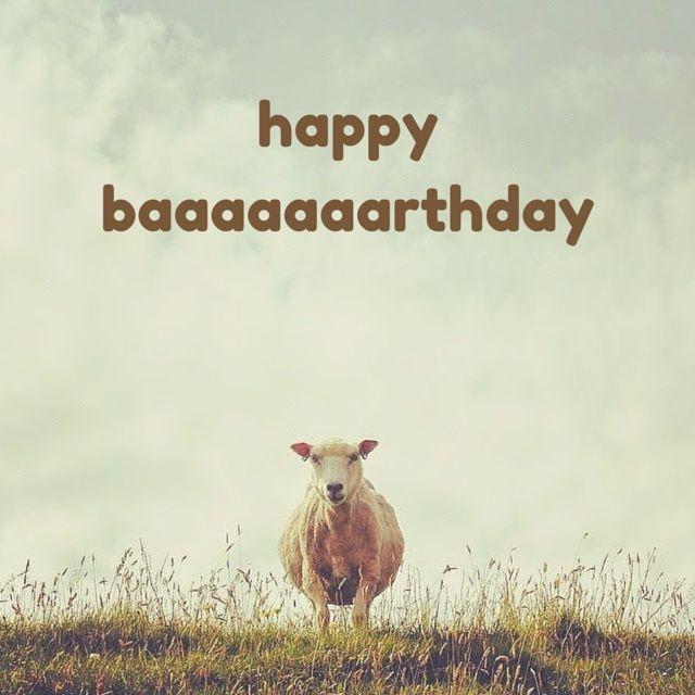 Happy baaaaaaarthday Picture Quote #1