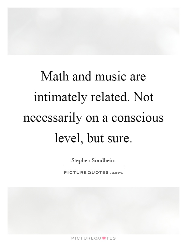 music relationship to math