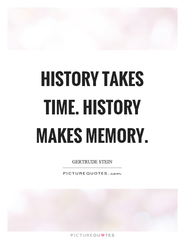 history and memory quotes 5248 quotes have been tagged as history: winston s churchill: it is a longing for home, for a memory of the mother, for new metaphors for life.
