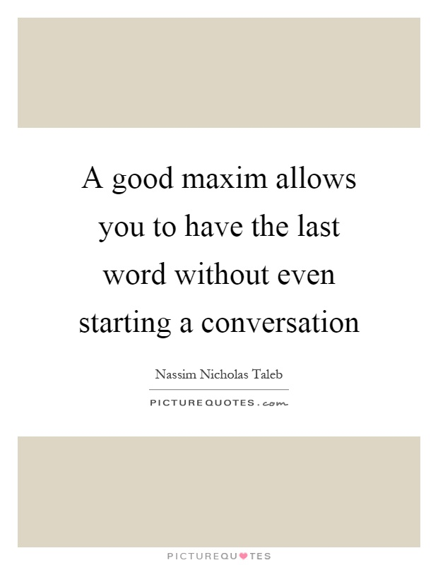 how to create a good conversation