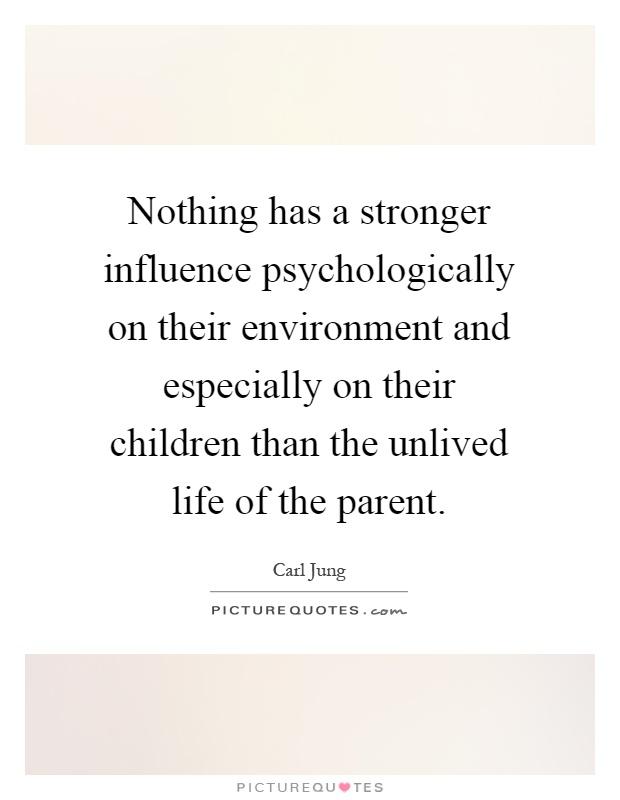 ESSAY 18: WEAKEN INFLUENCE OF PARENTS OVER CHILDREN.