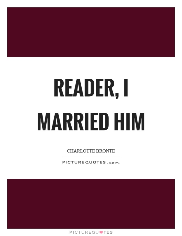reader i married him Reader, i married him by tracy chevalier, 9780008150570, available at book depository with free delivery worldwide.