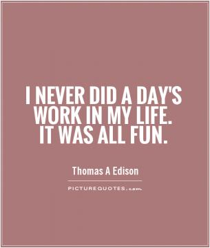 thomas edison and hard work Thomas edison is known for coming up with lots of inventions that changed  it  was all those hard working hours that allowed him to create his.