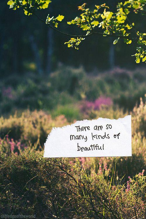 There are so many kinds of beautiful Picture Quote #1
