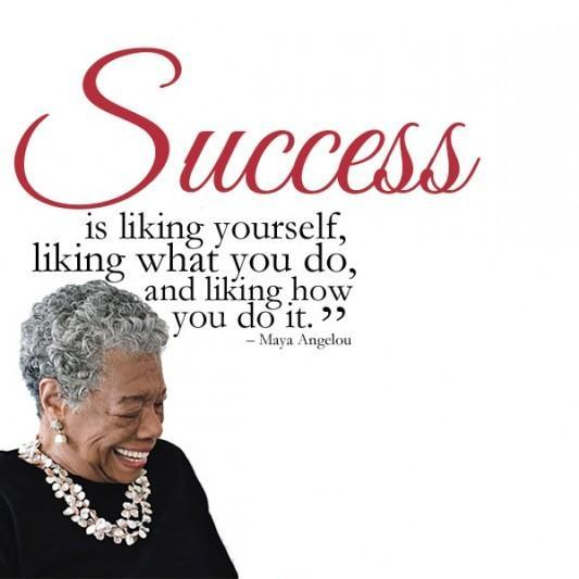 Success is liking what you do, and liking how you do it Picture Quote #1