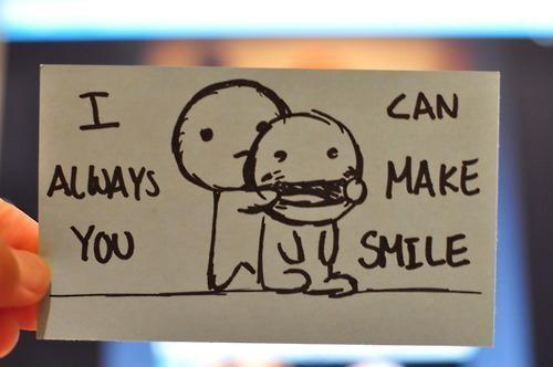 I can always make you smile Picture Quote #1
