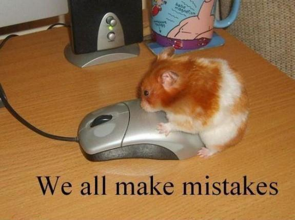 We all make mistakes Picture Quote #1