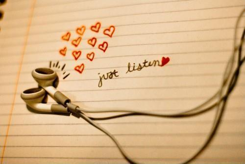 Just listen Picture Quote #1