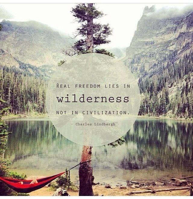 Real freedom lies in wildness, not in civilization Picture Quote #1