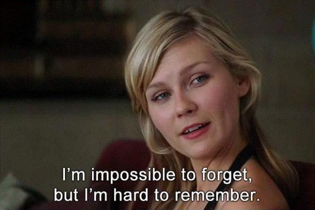 I'm impossible to forget, but i'm hard to remember Picture Quote #1