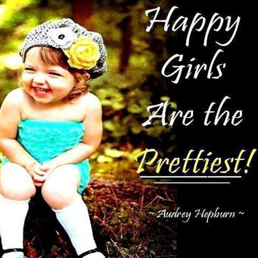 Happy girls are the prettiest Picture Quote #4