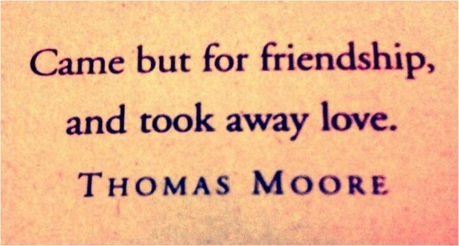 thomas moore soul mates quotes