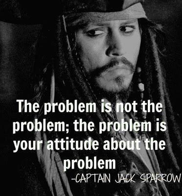 The problem is not the problem, the problem is your attitude about the problem Picture Quote #1