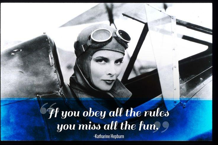 If you obey all the rules you'll miss all the fun Picture Quote #3