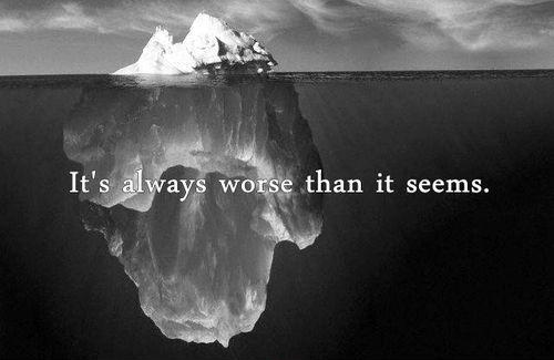 It's always worse than it seems Picture Quote #1