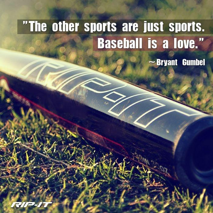 The other sports are just sports. Baseball is a love Picture Quote #2