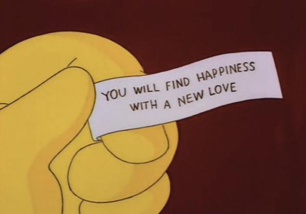 You will find happiness with a new love Picture Quote #1