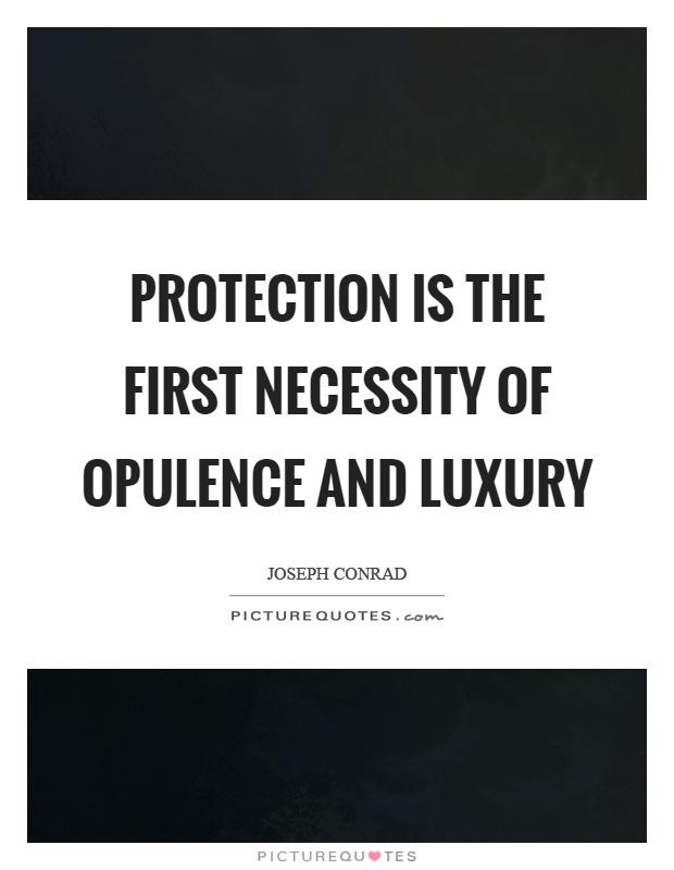 luxury or necessity essay