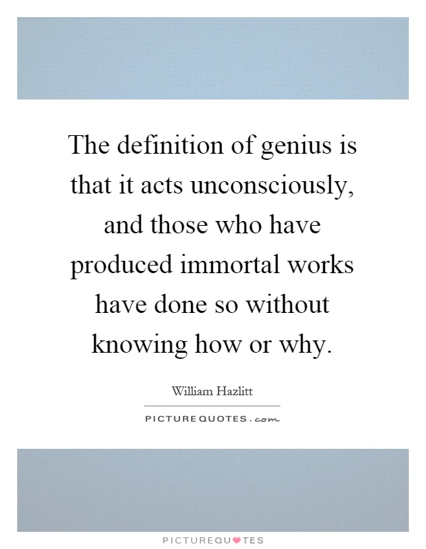 the defining qualities of a genius Each of the 16 types has innate traits, qualities, and characteristics totally differentiable and unique from all the other types each type's exceptional abilities, spirit, and talents are genius, and capable of giving each person a global perspective and recognition.