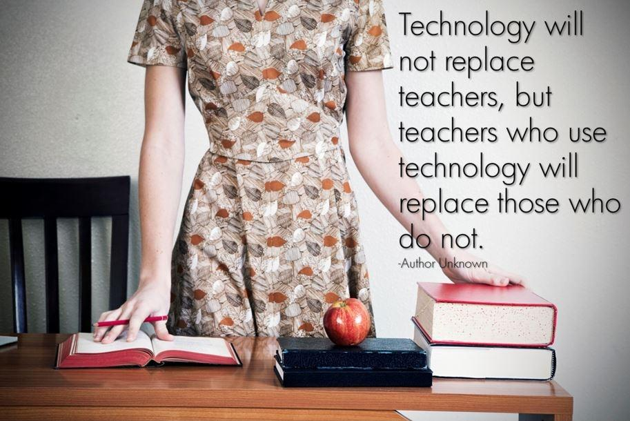 Technology will not replace teachers, but teachers who use technology will replace those who do not Picture Quote #1
