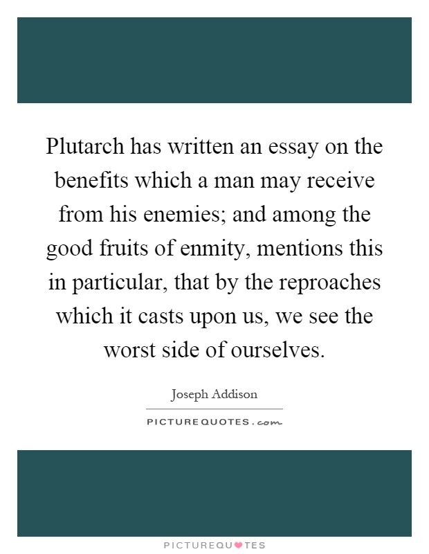 plutarch essay on listening Essays by plutarch and robin waterfield he offers personal insights into moral subjects that include the virtue of listening on listening introduction essay.