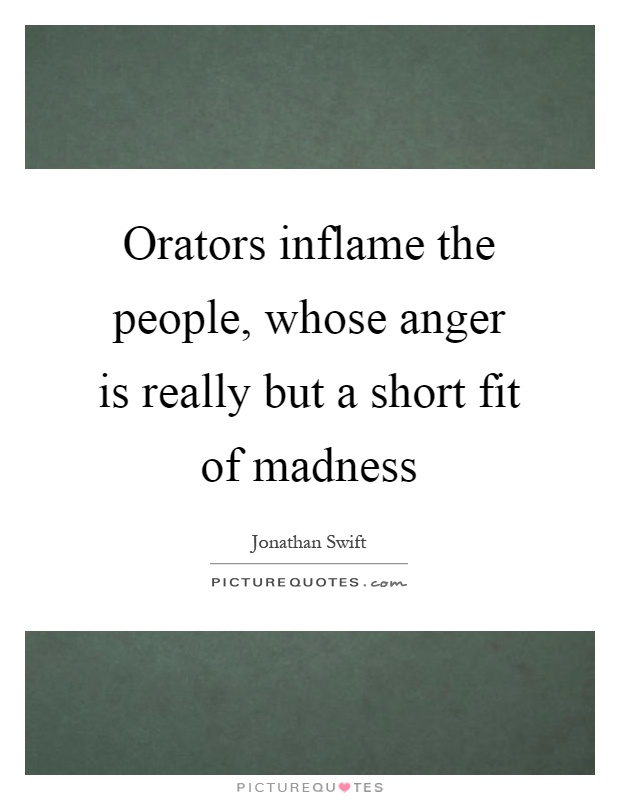anger is short madness The world's premier free website for learners and teachers of english est'd 1997.