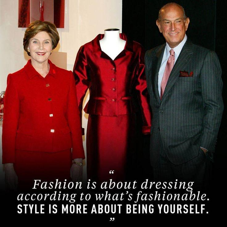 Fashion is about dressing according to what's fashionable. Style is more about being yourself Picture Quote #1