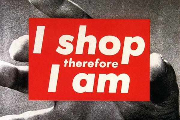I shop therefore I am Picture Quote #1