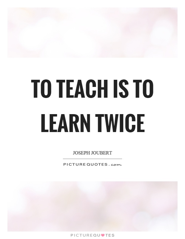 ~To Teach Is To Learn Twice~: The Balanced Literacy Model