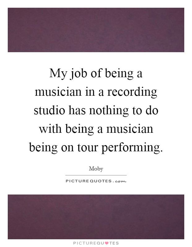 essay on being a musician